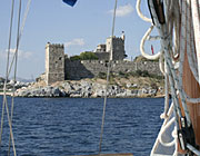 Bodrum, St. Peters castle from sea