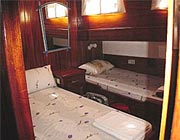 M/S CEMRE, cabins with double and single berth