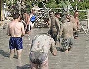 Mud bath in Dalyan