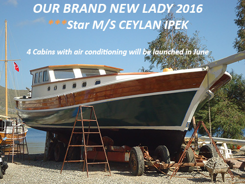 New Gulet Yacht CEYLAN IPEK - see how she was built