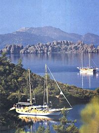 breathtaking scenery near Gocek