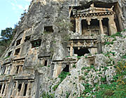 Fethiye rock tombs, countles antiquity here