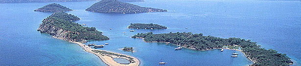 Gocek is blessed with magnificent scenery.