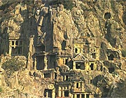 rocktombs in Myra