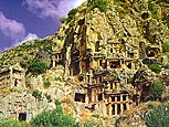 Myra-Rock tombs